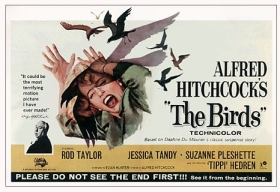"Poster for ""The Birds"" by Alfred Hitchcock"
