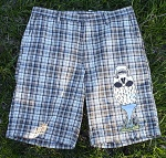 Preppy Punk Golf Shorts