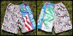 God Bless America Board Shorts