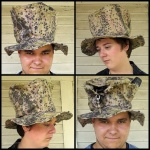 Hillbilly Top Hat with Pockets