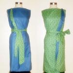Vintage Inspired Reversible Dress