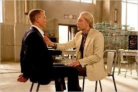Javier Bardem and Daniel Craig in Skyfall