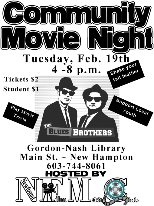 Community Movie Night Blues Brothers