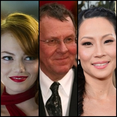 Emma Stone, Tom Wilkinson and Lucy Liu voice characters in the Sleeping Dogs video game