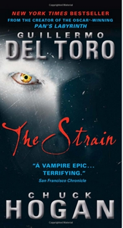 "Macabre Month of Horror #25 ""The Strain"" Guest review by Amy Lyn Kench (when did I become a guest on my own blog?)"