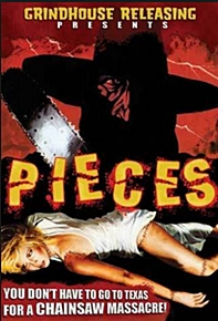 grindhouse movie poster for piieces