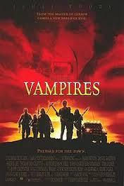 John carpenter's Vampires poster