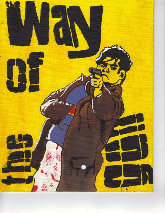Way of the Gun inspired painting by Sam Kench