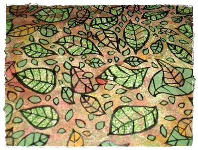 Finished Glue Batik Fabric