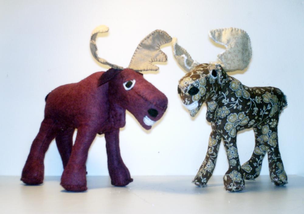 handmade moose