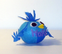 Blue Bird's The Word Recyco-Ball