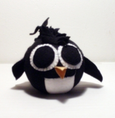 Penguin with Mohawk Recyco-Ball