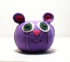 Purple Mouse Recyco-Ball
