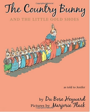 A Wonderful Easter book to share 'The Country Bunny and the Little Gold Shoes' by Du Bose Heyward