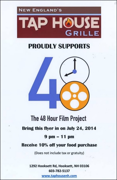 48 hour film project coupon
