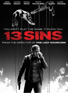 """Macabre Month of Horror: Movie Review #13 """"13Sins"""""""