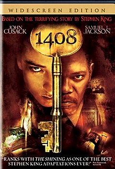 1408 Stephen King book into movie for the macabre month of horror