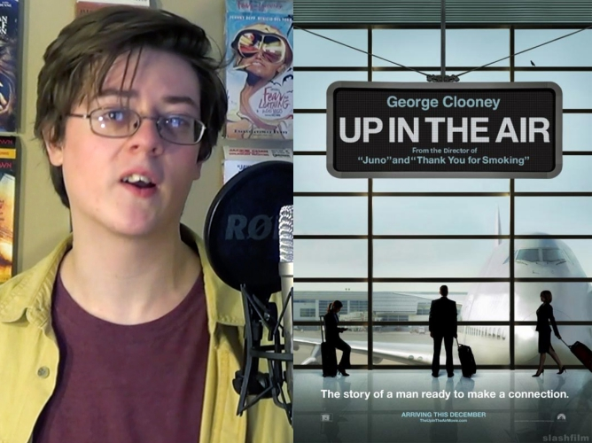 up in the air title card