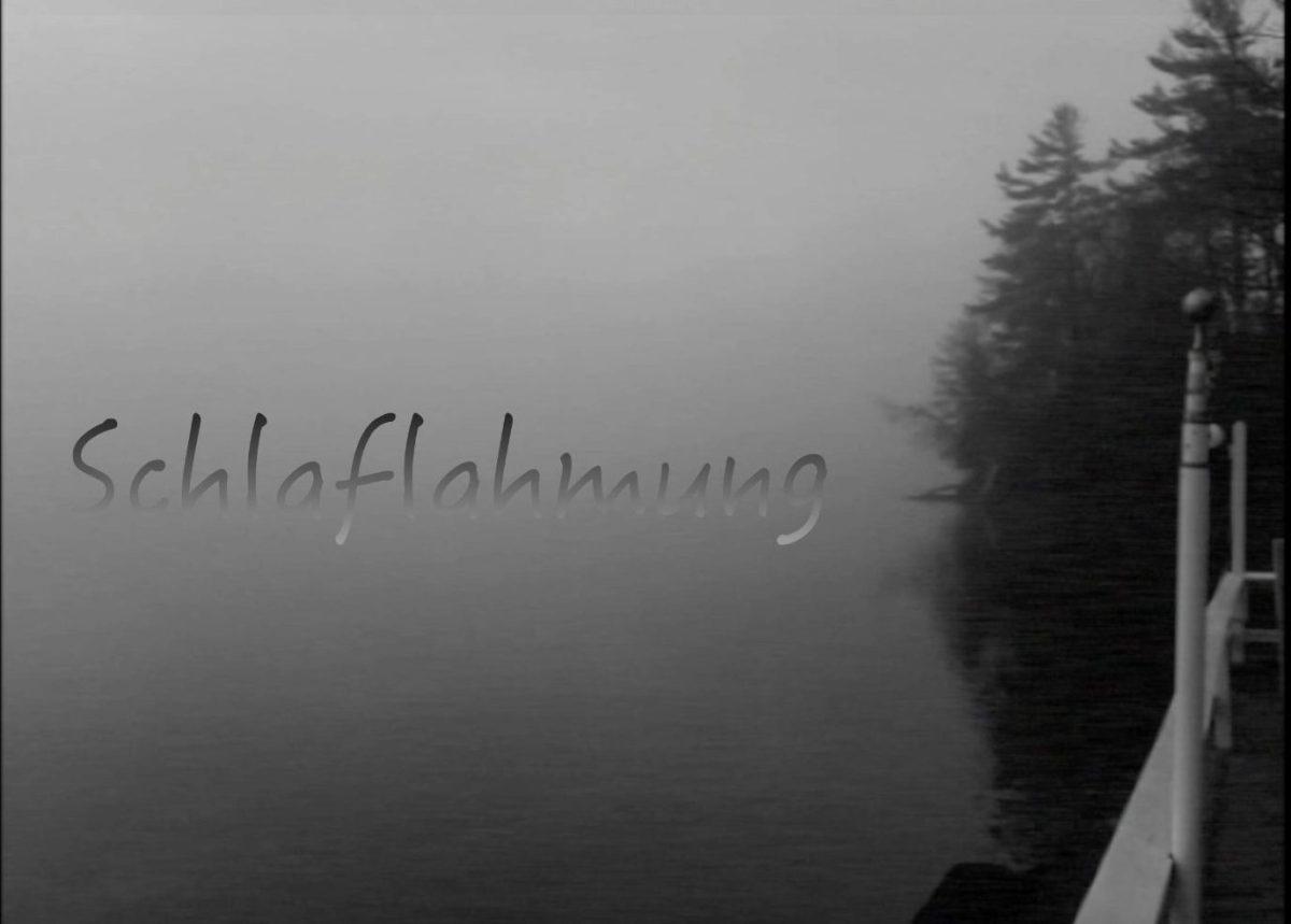 schlaflahmung a short black and white experiemental horror film by sam kench