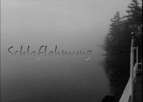 schlaflahmung a short black and white experiemental horror film by sam kench