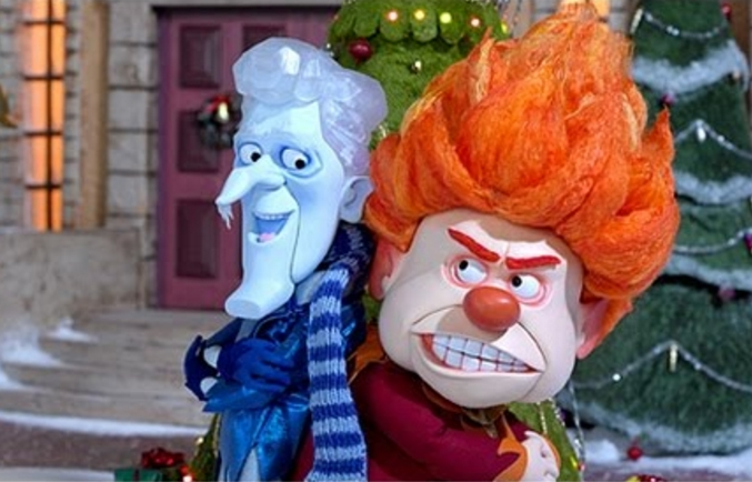 freeze miser and heat miser the year without a santa claus